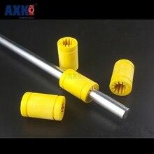10 шт. 3D-принтеры твердого полимера LM10UU подшипник-10 мм вал сплошной Пластик подшипник 10 мм Пластик линейные подшипники