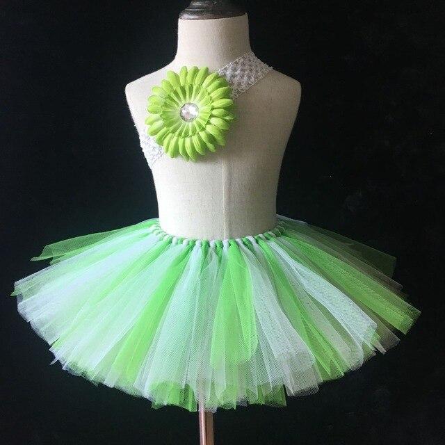 aa4c0be5464c9 Nouvelles Filles Fleur Tutu Jupes Bébé Main Moelleux Tulle Tutus Ballet De  Danse Pettiskirt avec Bandeau