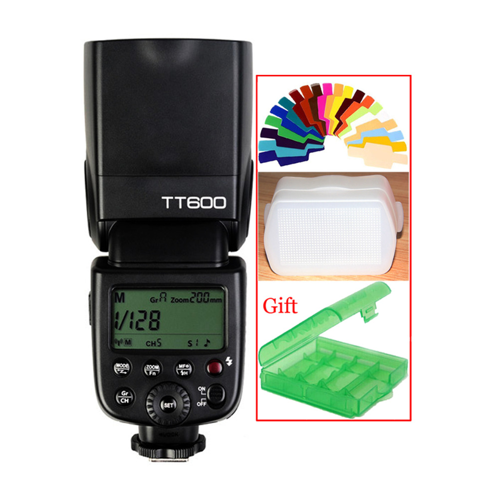 Godox TT600 2.4G Wireless Camera Flash Speedlite for Canon 760D 750D 700D 650D 600D 550D 70D 60D 50D 40D 30D 7D 6D 5D 1200D 60Da flash trigger transmitter e ttl ii 2 4g wireless for canon eos 7d markii 7d 6d 80d 70d 60d 50d 40d 30d 750d 760d 700d 650d