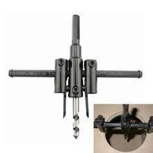 30mm-120mm Adjust Wood Circle Hole Saw Cutter Tool Kit Set Cordless Drill Bit(China (Mainland))