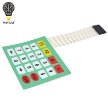 1pcs 4x5 Matrix Array 20 Key Membrane Switch Keypad Keyboard Control Panel Microprocessor Keyboard Controller for Arduino 5*4