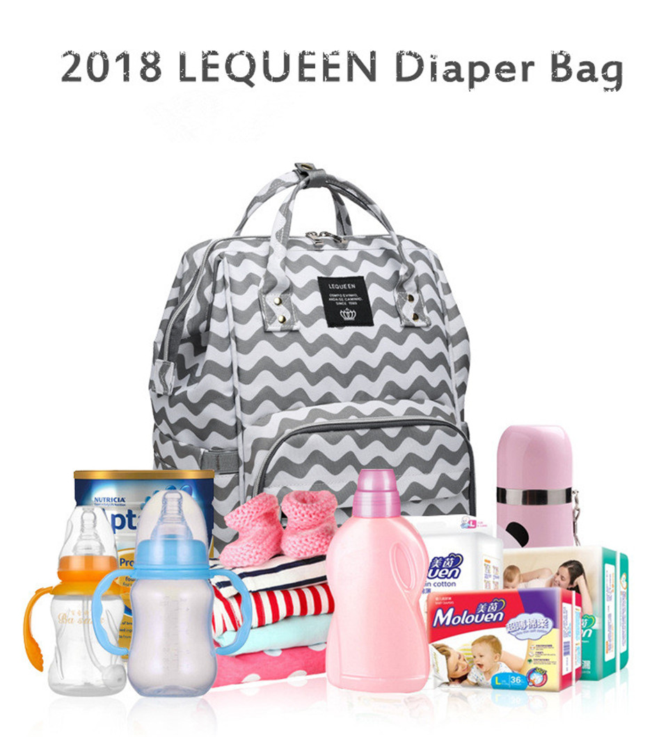 HTB1i2FhTCzqK1RjSZFHq6z3CpXak LEQUEEN Diaper Bag Pure Color Men's Mummy Baby Care Nappy Bag 44CM Large Capacity Waterproof Business Backpack Travel Bag