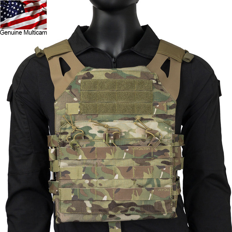 Genuine Multicam JPC Plate Carrier Hypalon Strap Tactical Military Paintball Vest(STG051189) 2018 voodoo tactical sog airsoft paintball bulletproof vest plate carrier multicam plate carrier voodoo colete a prova de bala