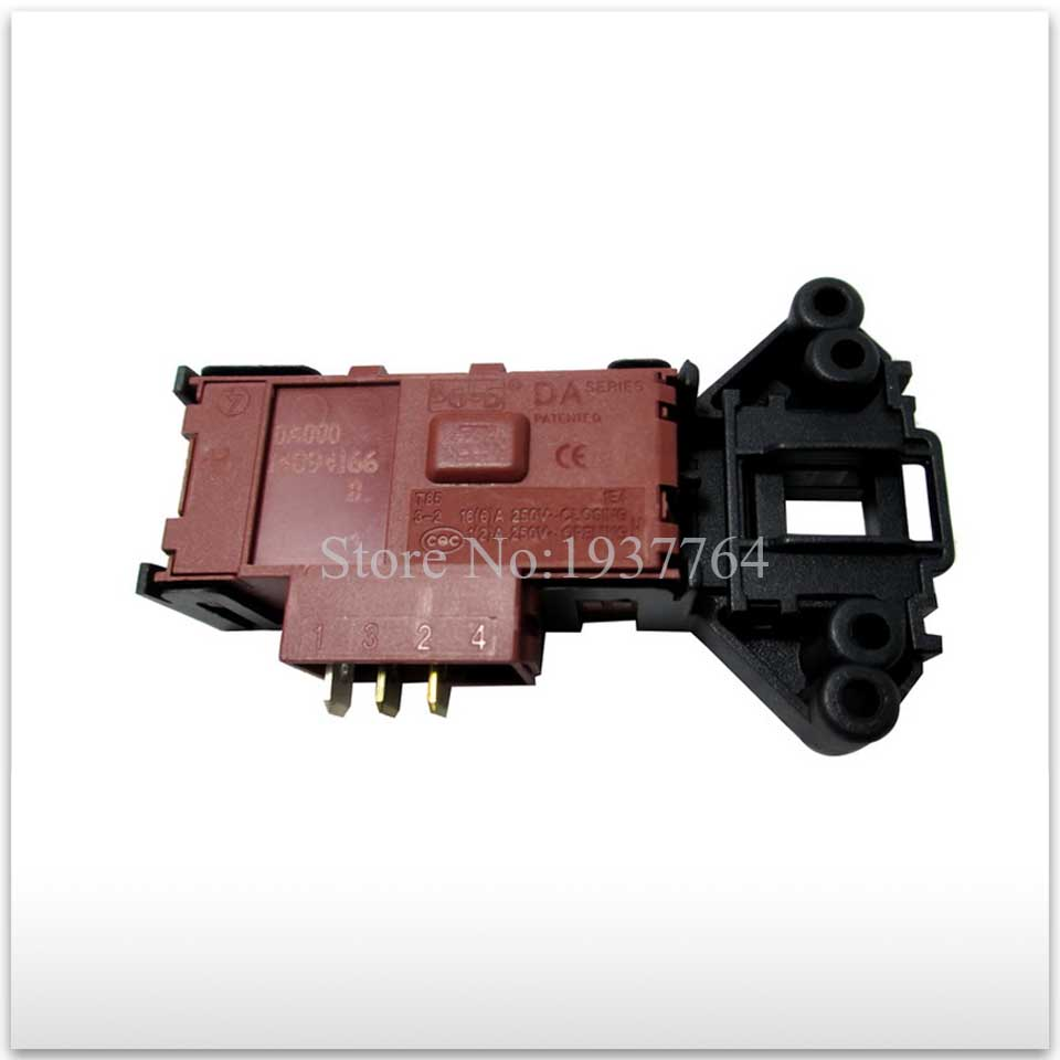 1pcs new Original for Haier washing machine parts time delay switch door lock new for haier washing machine drum door hinge 0020102698