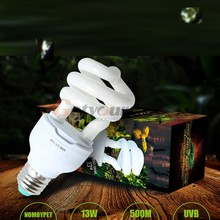 5.0 UVB 13W Reptile Light Bulb UV Lamp Vivarium Terrarium Tortoise Turtle Snake Pet Heating Light Bulb 110v/220v E27