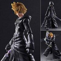 Kingdom Hearts II Roxas Sora Figure Play Art Kai PVC 10.23