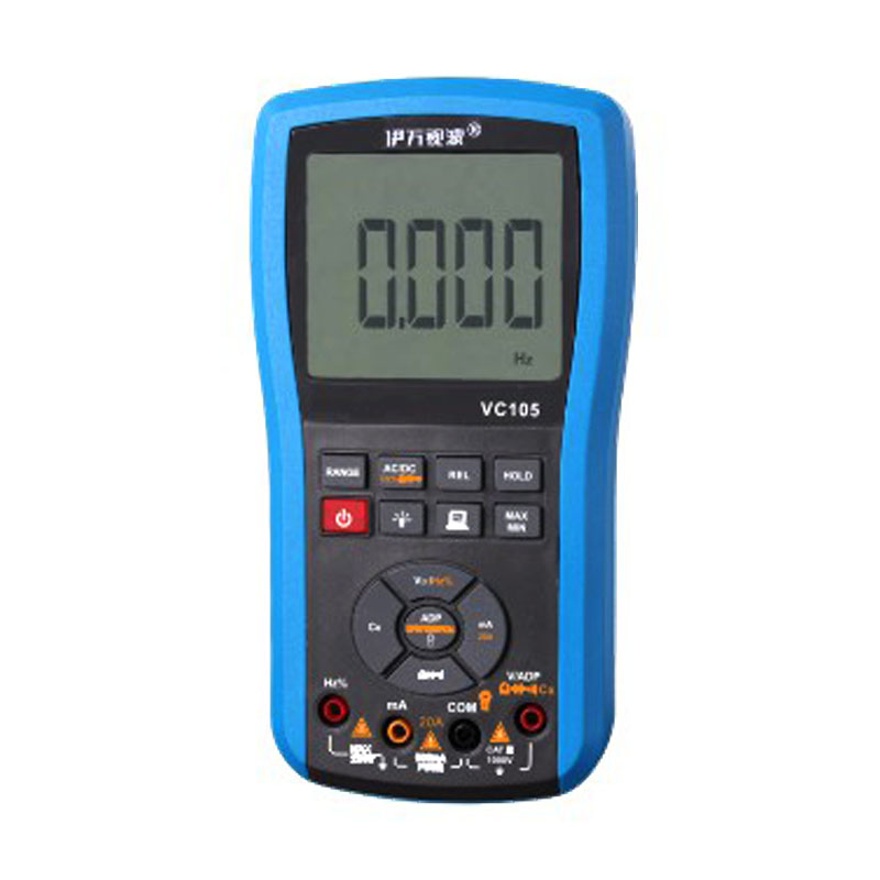 VC105 Multimeter AC/DC Voltage/Current Auto-range digital waterproof  silicone meter with white backlight mini multimeter holdpeak hp 36c ad dc manual range digital multimeter meter portable digital multimeter