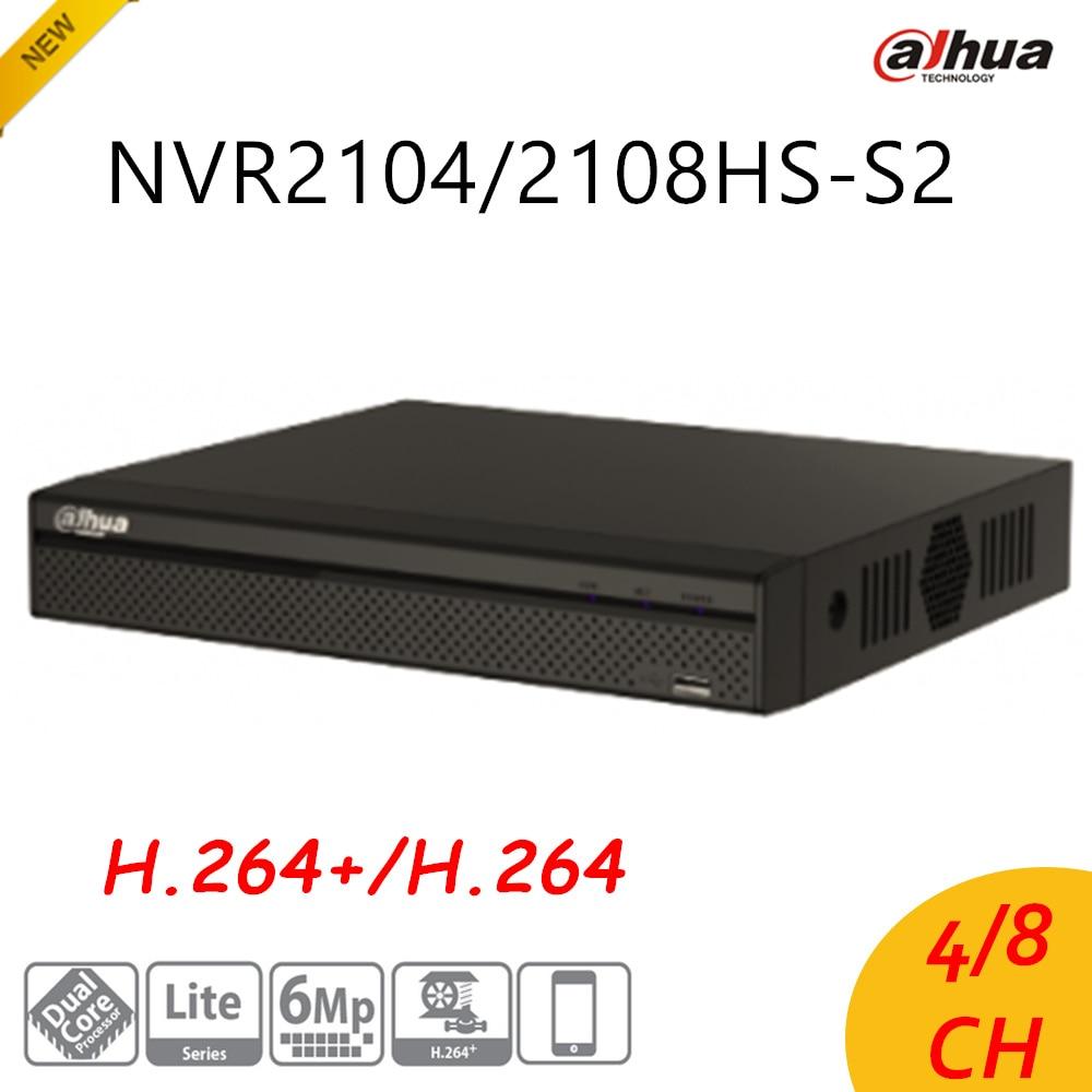 English Version Dahua 4/8 Ch Compact 1U Lite Network Video Recorder NVR2104HS-S2/NVR2108HS-S2 H.264+/H.264 HD1080P Up to 6Mp доска для объявлений dz 1 2 j8b [6 ] jndx 8 s b