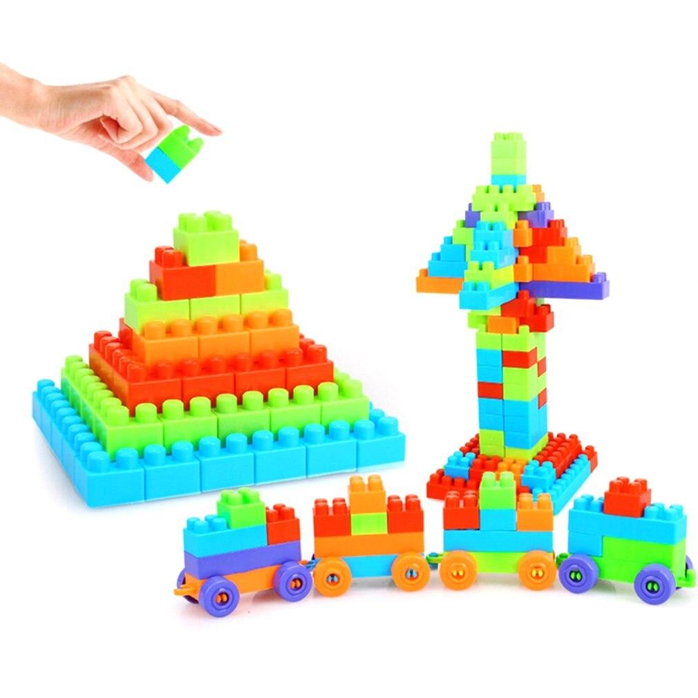 Aktiv 92 Stücke Diy Lustige Bausteine Set City Kreative Pädagogisches Bricks Kompatibel Baustein Spielzeug Für Kinder Festival Geschenk Mangelware Sammeln & Seltenes Schraubklötze
