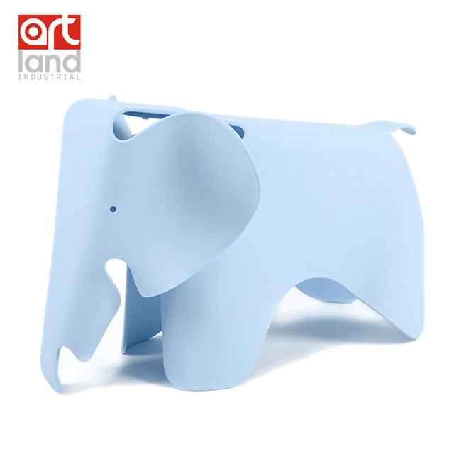 Top quality children chair , molded plastic chair in elephant shape, kids toy, color(red pink blue green) free shipping