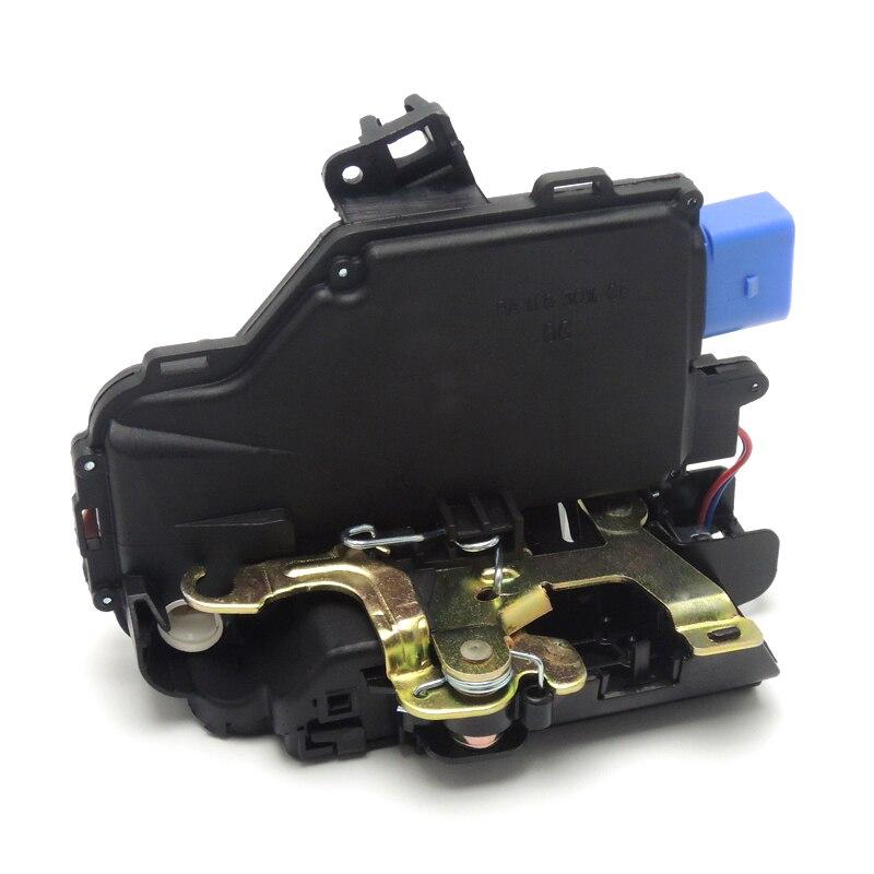 Передний правый/замок двери водителя привод для VW Гольф MK5 Jetta MK3 Touran 1T1, 1t2 для сиденья Altea Seat Toledo MK3 3D1 837 016a