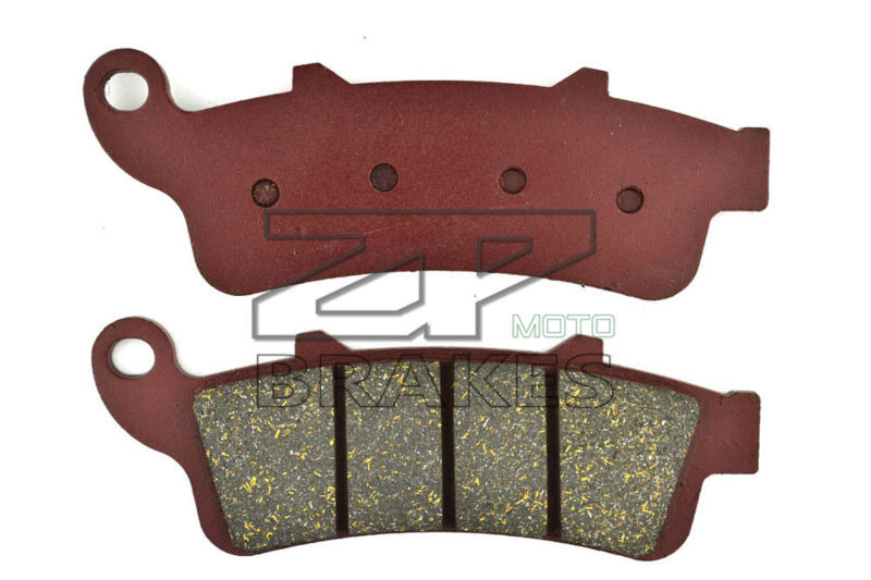 цены  Free Shipping Motorbike Brake Pad Organic For Front KYMCO PEOPLE GTi 300 / ABS 2010 K-XCT 300i /ABS 2012 BRAKING OEM New