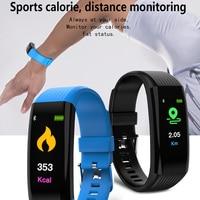 2019 new arrival smartband heart rate monitor sports tracker smart wristband fitness bracelet remote photography watch pk miband