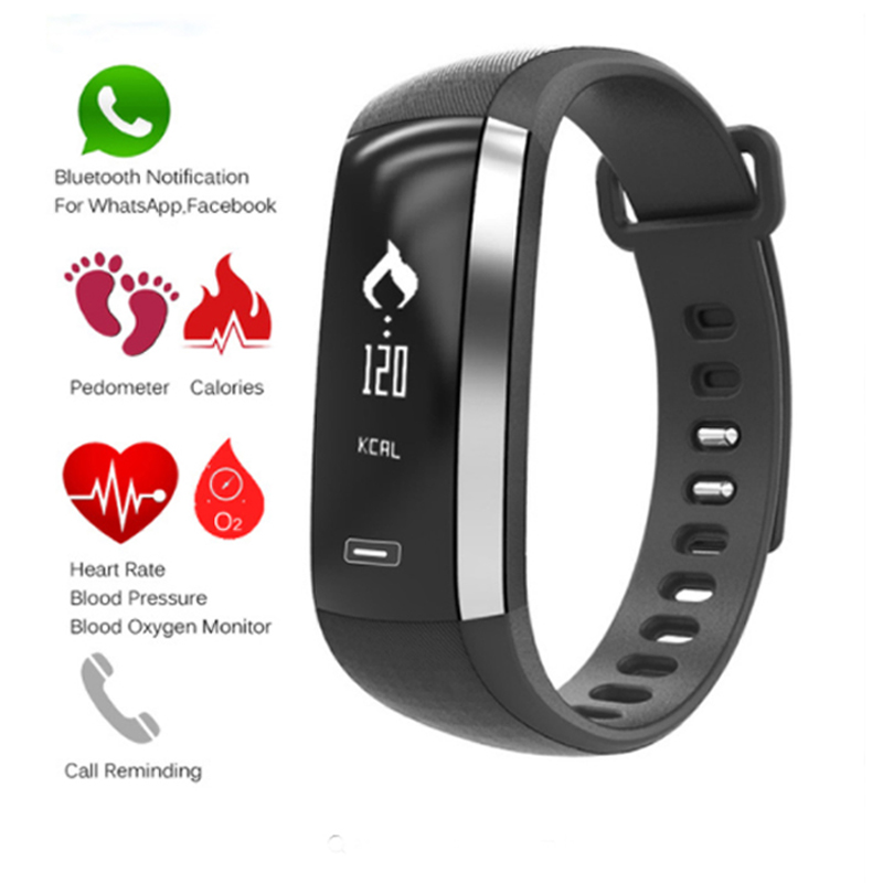 M2 fréquence cardiaque tensiomètre sport gps montre carte suivi bracelet intelligent relogio cardiaco esportivo pk mi bande 3 horloge