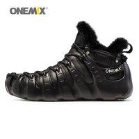 Onemix Man Winter Boots Outdoor Walking Shoes Women Outdoor Sneakers Roman Trekking No Glue Healthy Keeping