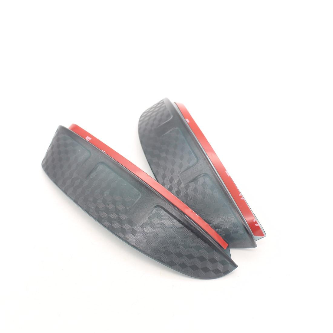 Dongzhen 2X For Skoda Octavia 2013 Auto Car Carbon Fiber Rearview Mirror Rain Eyebrow Accessories Car Styling Car-cover