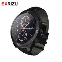 EXRIZU UW23 MTK6572 1,2 ГГц Android Смарт часы 450mA Батарея 512 М + 4 Гб Bluetooth 4,0 Smartwatch динамический монитор сердечного ритма для здоровья