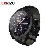 EXRIZU UW23 MTK6572 1,2 ГГц Android Smart часы 450mA Батарея 512 М + 4 ГБ Bluetooth 4,0 Smartwatch динамический монитор сердечного ритма здоровья