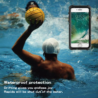 Waterproof For IPhone 7 7PLUS Case Advanced Three Anti Water Sports Special Phone Case Cover