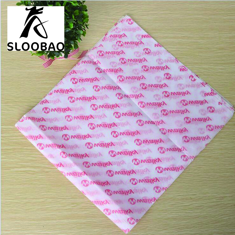 Free shipping Custom print quality brand logo printed gift garment shoes tissue wrapping paper embalagem tissue