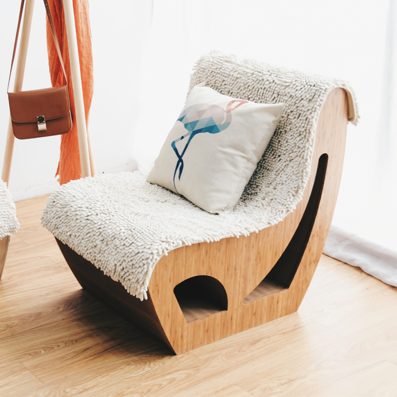 Leisure sofa backrest Business reception Simple office reception chairs environment-friendly furniture Kraft paper sofa