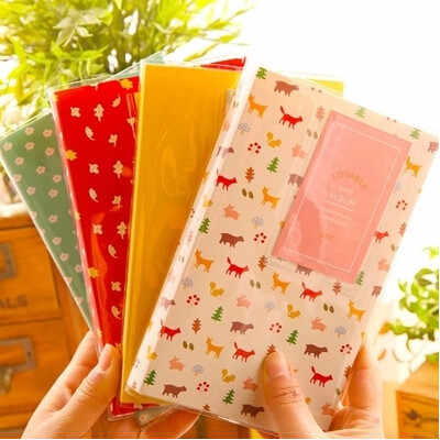 84 Pockets Mini Album Storage Case Photo Container for 3 Inch Photoes Interleaf Type  Albums Polaroid Inset Mini Insert Album