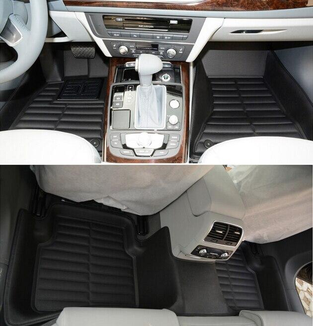 Migliore qualità! personalizzato tappetini speciali per Audi SQ5 2015 antiscivolo resistente facile da pulire tappeti per SQ5 2017-2013, Trasporto libero