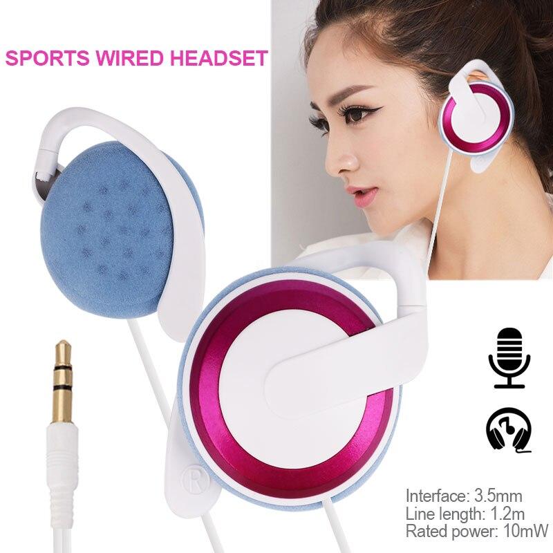Gewidmet Ohr Kopfhörer Wired Headset Ohrhörer 3,5mm Stereo Universal Mp3 Mit Mic Schrumpffrei