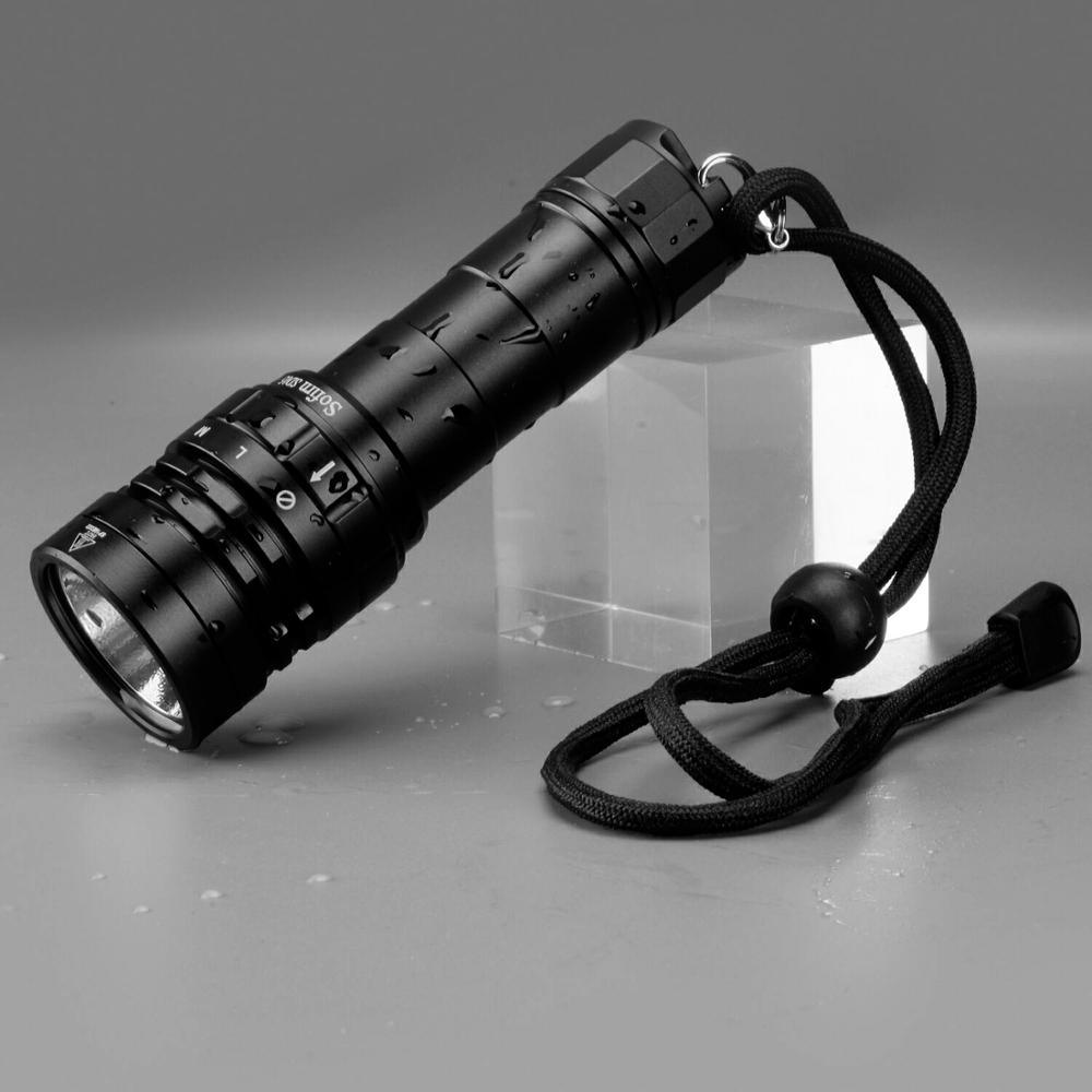 Image 2 - Sofirn SD05 Scuba Diving Flashlight XHP50.2 21700 Lantern 2550lm IPX8 Waterproof Magnetic Ring Orange Peel Reflector 18650 Torch-in LED Flashlights from Lights & Lighting