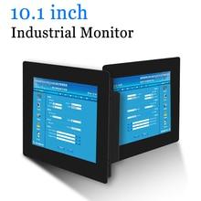 10.1 אינץ קליפ על מחשב LED צג תעשייתי צג תצוגה נייד עם HDMI DVI VGA AV פלט