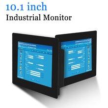 10.1 بوصة كليب على الكمبيوتر شاشة LED شاشة الصناعية المحمولة العرض مع إخراج HDMI DVI VGA AV
