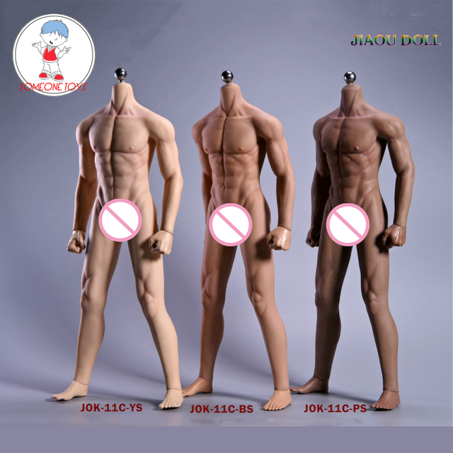 Super Flexible Male Seamless Body Figure 1/6 Scale With Stainless Steel Ball Joints Strong Musle Figure Model Collection Toy