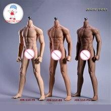 Superยืดหยุ่นชายSeamless Body Figure 1/6 Scaleลูกสแตนเลสสตีลข้อต่อStrongกล้ามเนื้อFigure Collection Toy