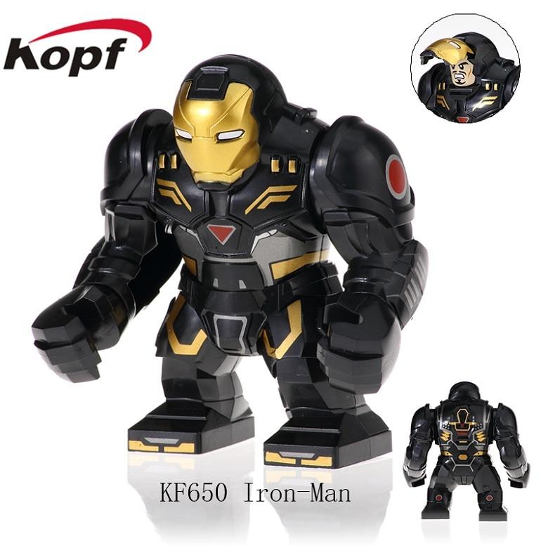 20Pcs Building Blocks Plactis Infinity War Movie 3 Figure Super Heroes Iron Man Hulk Buster For