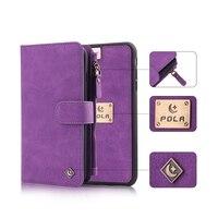 Etui SFor Coque IPhone 7 Case Plus Phone 7 Cases Luxury Leather Flip Cover For Fundas
