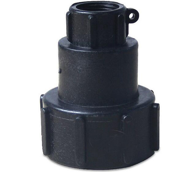 US $7 19 10% OFF 1000L IBC (60mm) To (20mm) Water Tank Hose Adapter Fitting  IBC Tote Valves Tank-in Pipe Fittings from Home Improvement on
