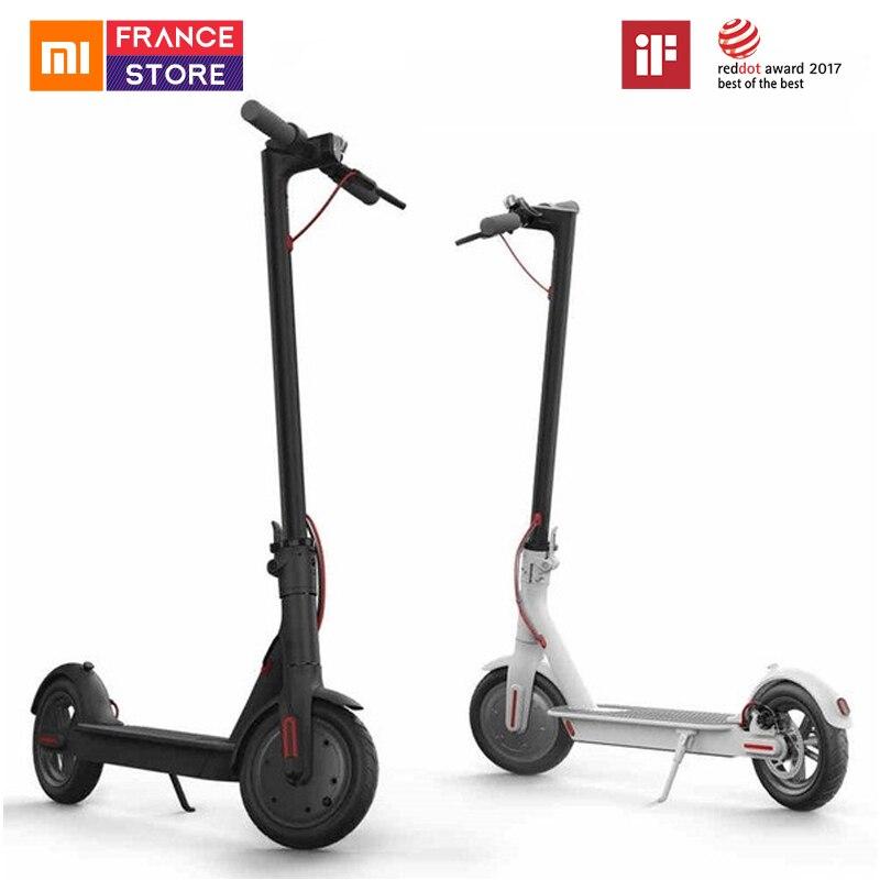 Original Xiaomi 2 Mijia M365 Inteligente Scooter Elétrico Scooter Rodas de Skate Bordo Adulto Mini Bicicleta Dobrável Hoverboard 30km com APP