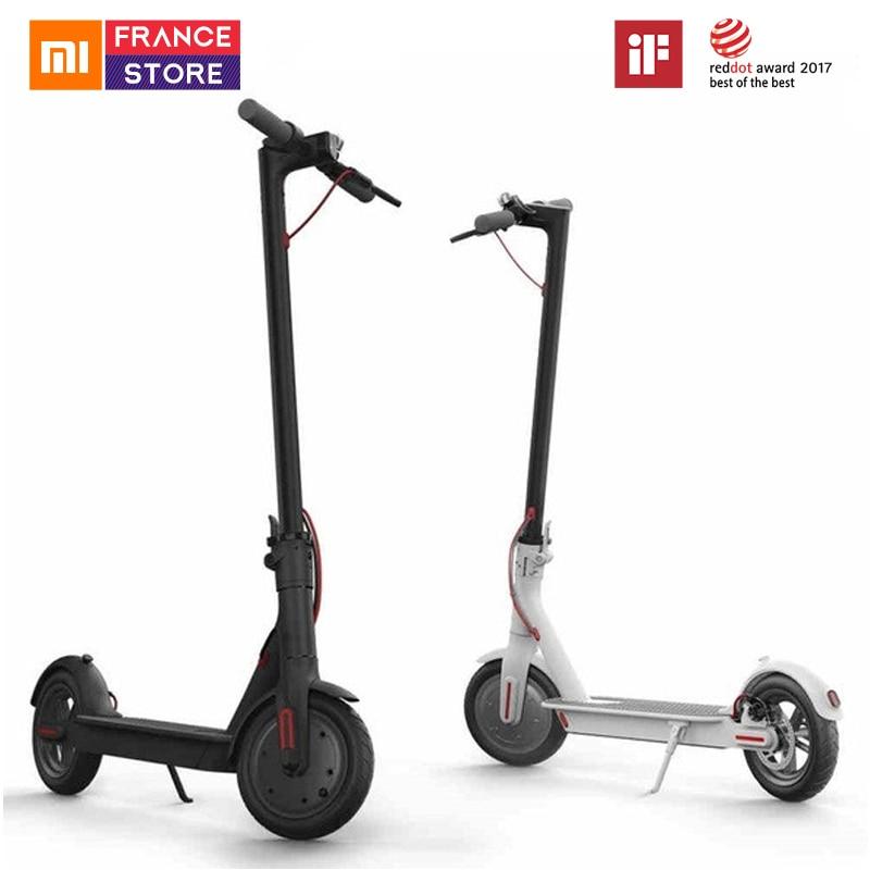 Scooter d'origine Xiaomi Mijia M365 Scooter électrique intelligent 2 roues planche à roulettes adulte Mini vélo pliable Hoverboard 30 km avec APP