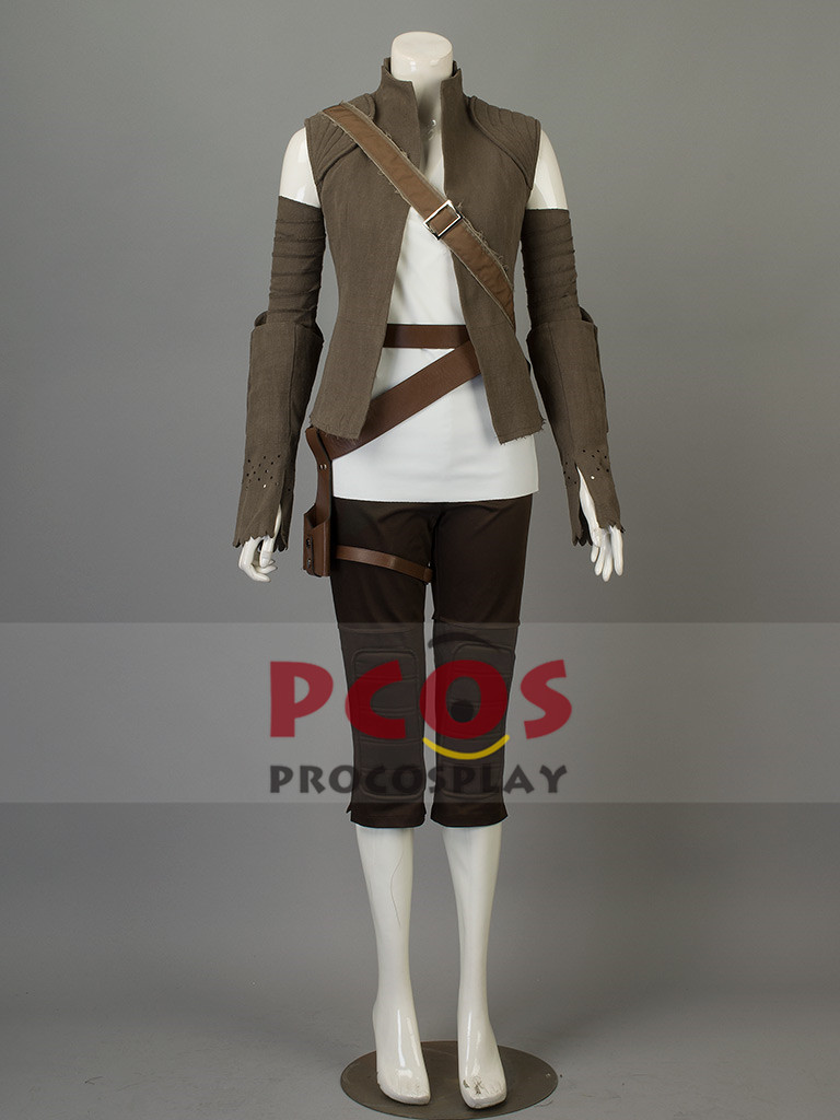 Star Wars:The Last Jedi Rey Cosplay Costume mp003759
