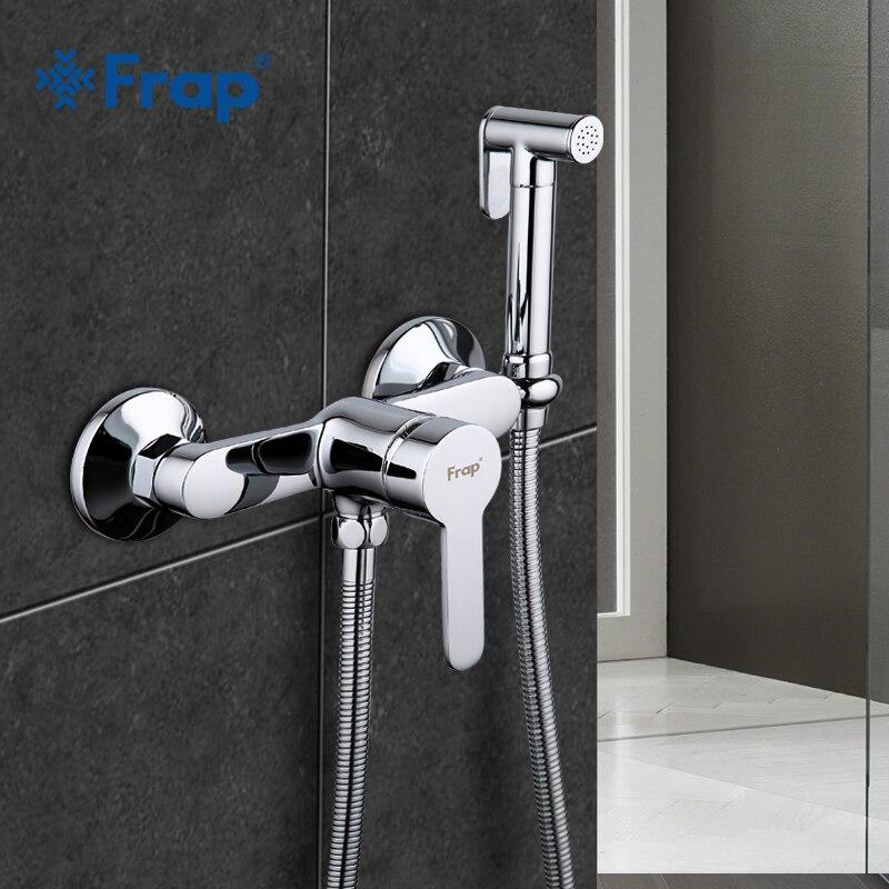 Frap Bidet Faucets Brass Bathroom Shower Tap Bidet Toilet Sprayer Bidet Washer Mixer Muslim Shower Ducha Higienica F2041