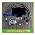 Liga de alumínio radiador de óleo do radiador GN250 TS250 250CC 300cc acessórios da motocicleta