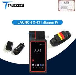 Uruchom X431 Diagun IV x431 iv Bluetooth/Wifi z DBScar złącze diagnostyczne wymień uruchomienie Diagun iii Auto diagnostyka
