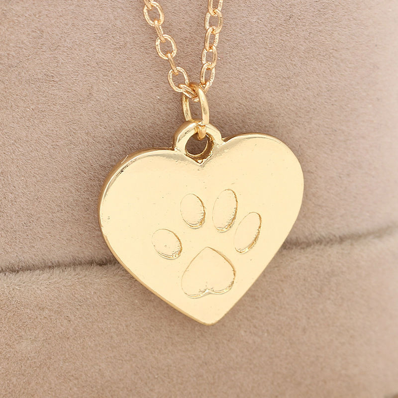 gettingpersonal co a necklace uk print heart htm engraved paw gifts