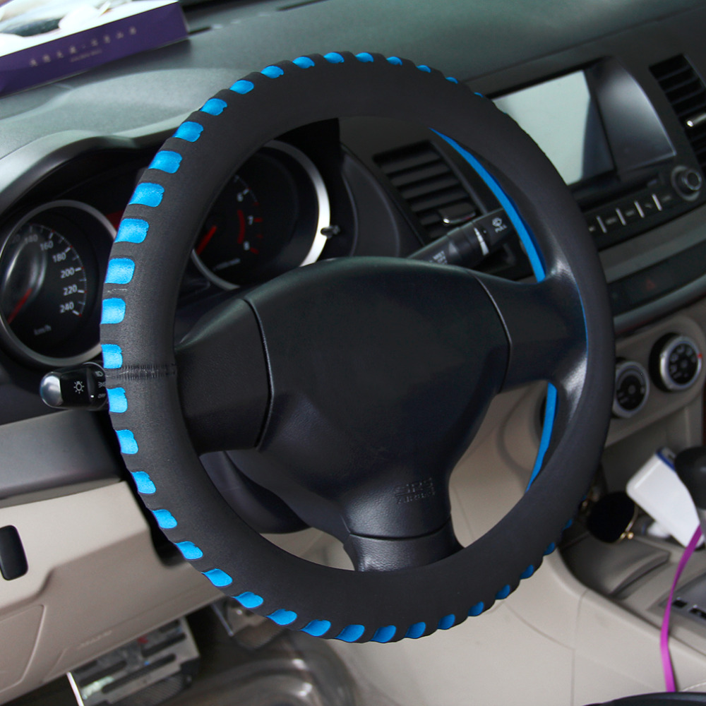 2018 Universal Car Steering Wheel Cover 38CM Diameter Automotive Vehicle Interior New Styling Automobiles Steering Wheel Cover