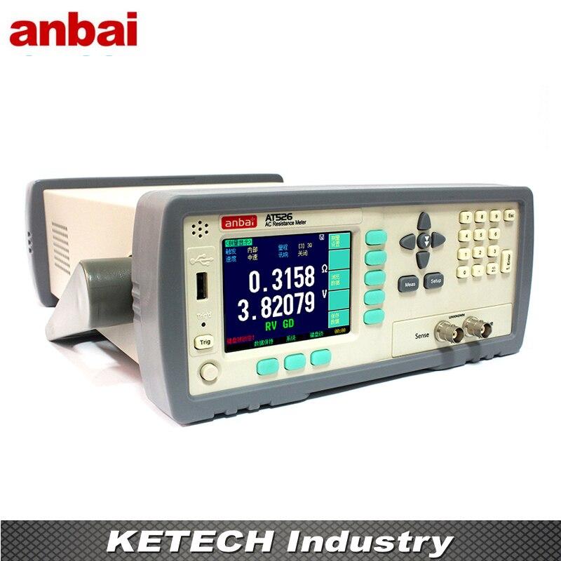 AT526 AC faible Ohm mètre batterie résistance interne testeur de précision résistance 0.5% tension 0.01%