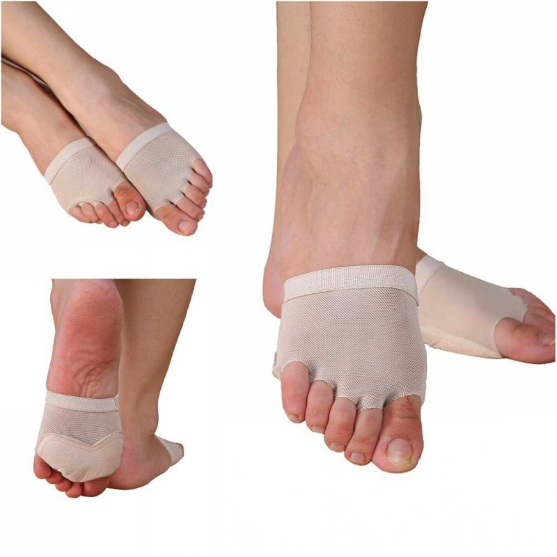 Foot Protect Thong Toe Undies Paws Half Lyrical Forefoot Cover Belly Dance Shoes SH1