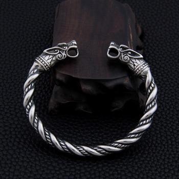 stainless steel Dragon Bracelet Jewelry Fashion Accessories Viking Men Wristband Cuff Bracelets