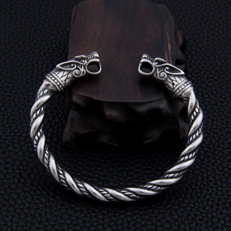 stainless steel Dragon Bracelet Jewelry Fashion Accessories Viking Bracelet Men Wristband Cuff Bracelets For Women Bangles bracelet