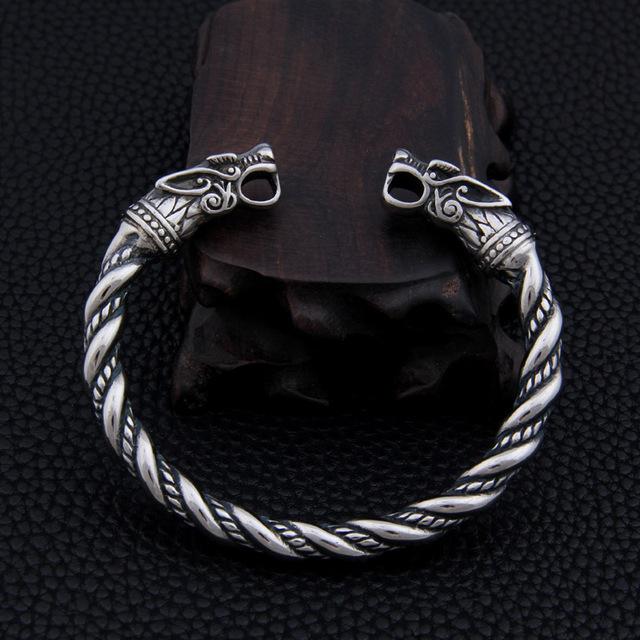VIKING DRAGON'S HEAD BRACELET