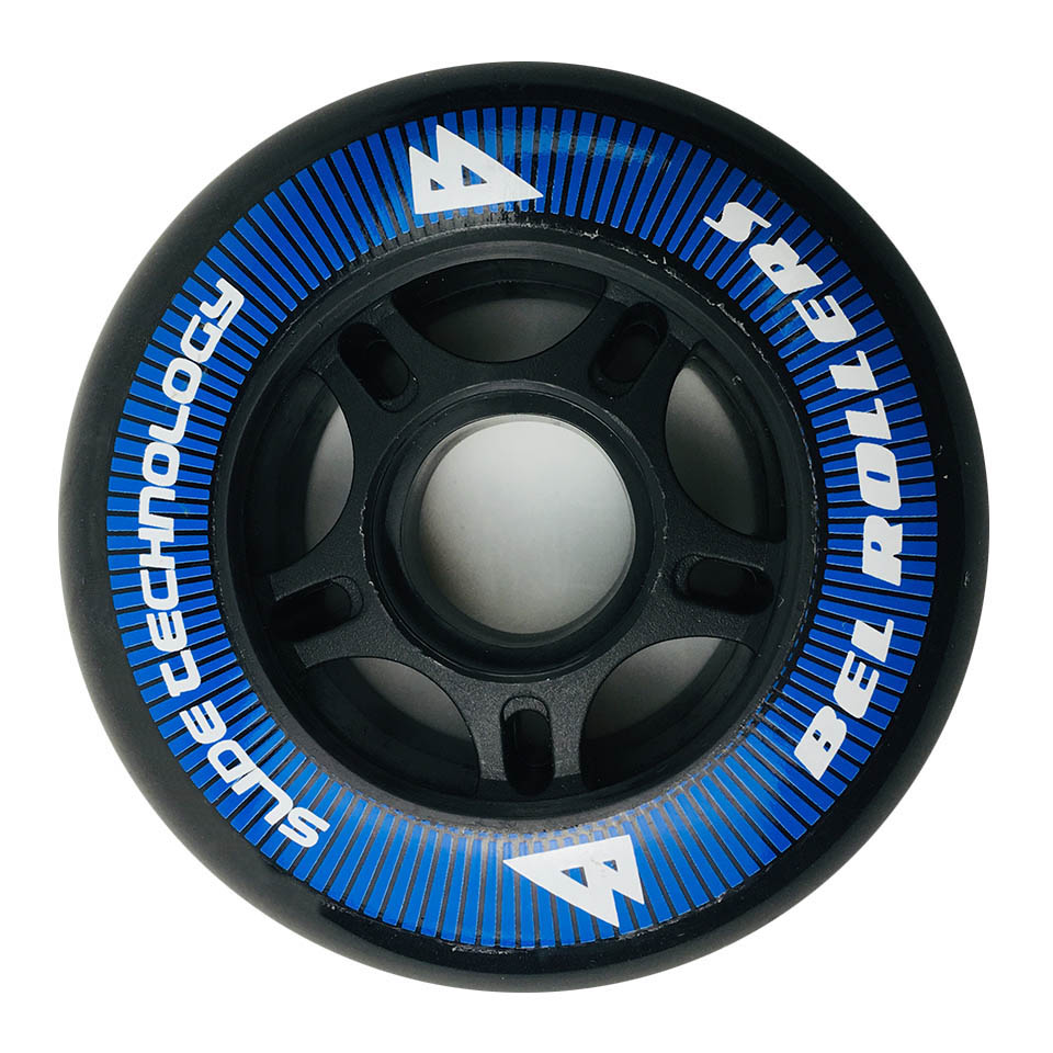 Japy Roller Skate PU Wheels 8 Pieces / lot 85A 80mm Tires Inline Slalom Sliding Free Skating For SEBA Powerslide Patines